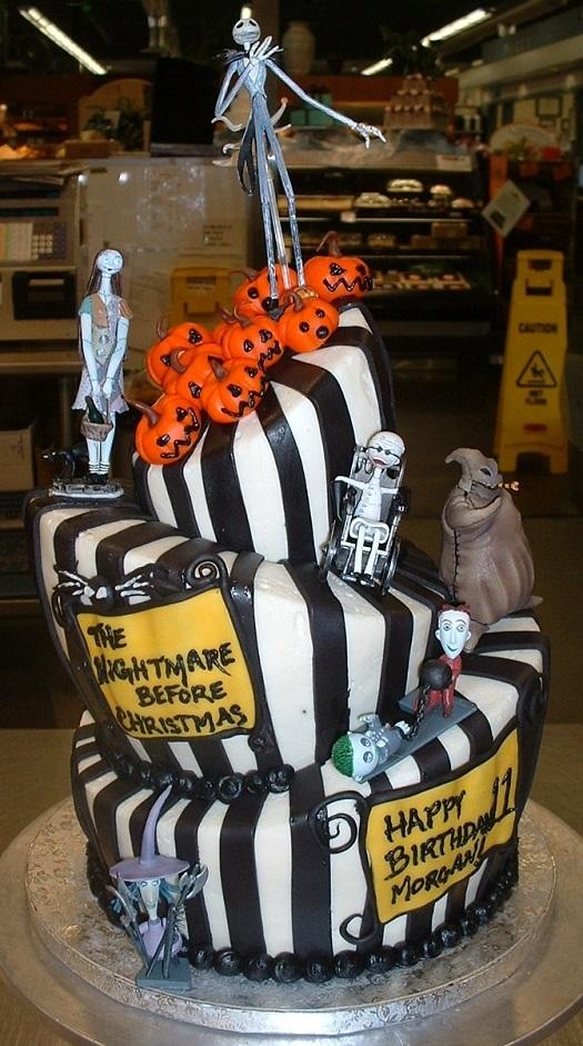 Top 10 Nightmare Before Christmas Cakes Fandomania