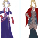 When Marvel Comics Collides with Evening Gowns