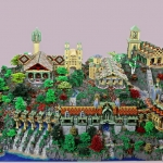 Tolkien Fans Build LEGO Rivendell with 200,000 Bricks