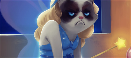 Grumpy Cat Cartoon Disney