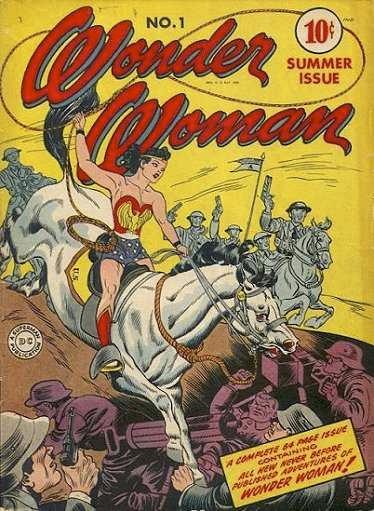 Wonder Woman #1, 1942