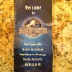 Jurassic World Has a Park Brochure