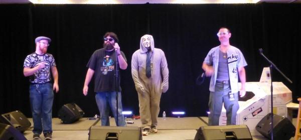 MC Wreckshin with Benjamin Bear, Funky 49, and, uh, I have no idea...