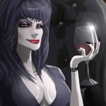 Fan Art Friday: Elvira, Mistress of the Dark