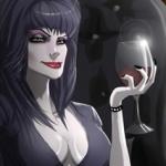 Fan Art Friday: Elvira, Mistress of the Dark