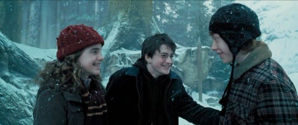 Azkaban Trio Laughing