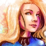 Fan Art Friday: Invisible Woman