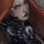 Fan Art Friday: Black Widow 2016