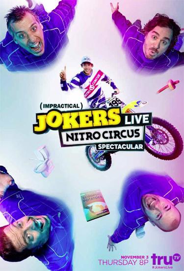 Contest: Win an Impractical Jokers Live: Nitro Circus ...