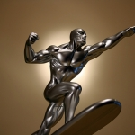 Bowen Designs Silver Surfer Galactus Scale Statue
