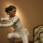 Star Wars Padme Vs Nexu Diorama