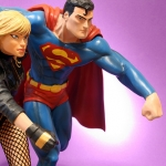 JLA Build A Scene Statue Part 2 – Superman and Black Canary