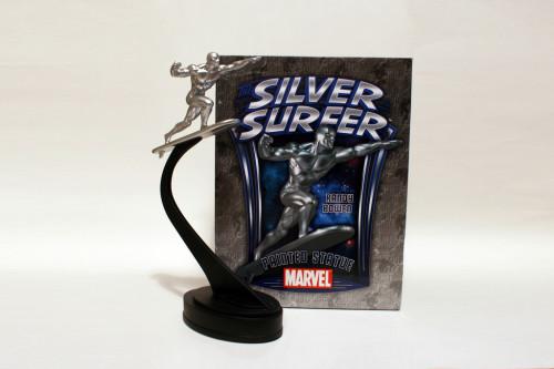 Bowen Designs Silver Surfer Galactus Scale Statue 001
