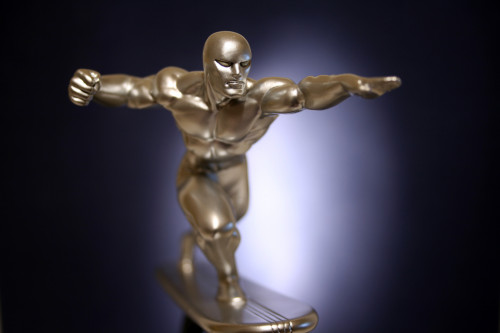 Bowen Designs Silver Surfer Galactus Scale Statue 007