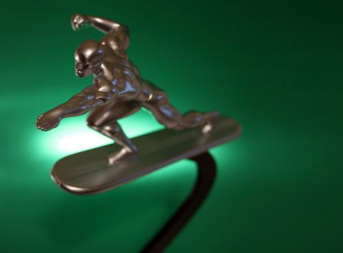 Bowen Designs Silver Surfer Galactus Scale Statue 011