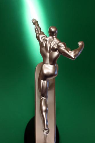 Bowen Designs Silver Surfer Galactus Scale Statue 012
