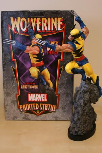 Bowen Wolverine Classic Action Statue 001
