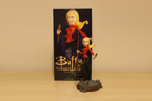 Buffy the Vampire Slayer Tooned Up Animated Maquette 001