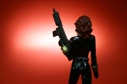 Classic Marvel Figurines Black Widow 005