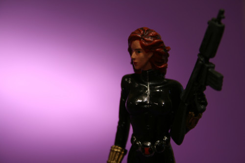 Classic Marvel Figurines Black Widow 006