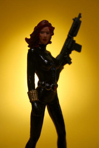 Classic Marvel Figurines Black Widow 007