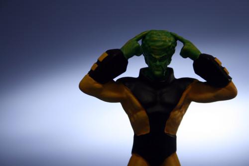 Classic Marvel Figurines Leader 006
