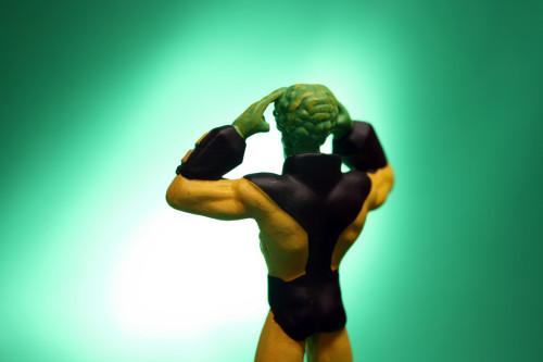 Classic Marvel Figurines Leader 007