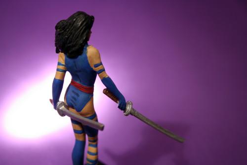 Classic Marvel Figurines Psylocke 007