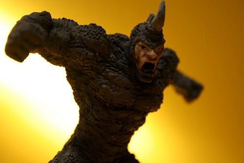 Classic Marvel Figurines Rhino 006