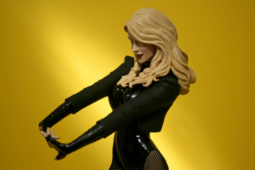 Cover Girls of DC Black Canary Statue 007