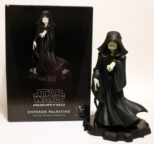 Emperor Palpatine Animated Maquette 001