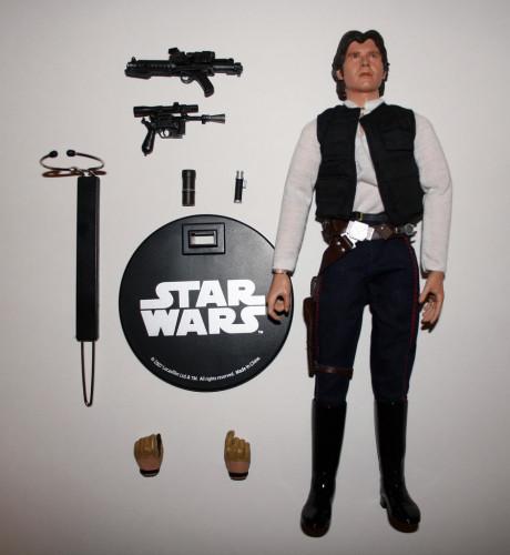 Han Solo Smuggler Tatooine 12 Inch Figure 001
