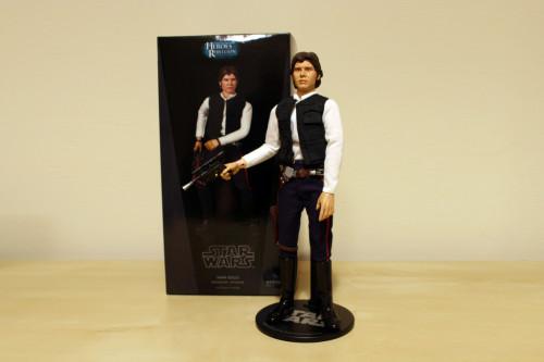 Han Solo Smuggler Tatooine 12 Inch Figure 002