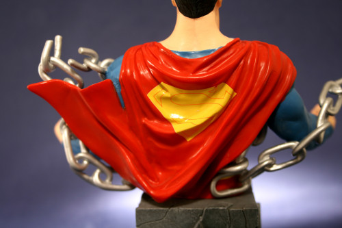 Heroes of DC Superman Bust 007