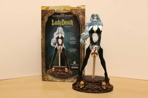 Moore Creations Lady Death Statue 001