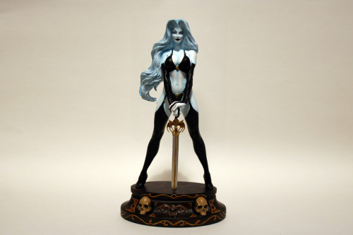 Moore Creations Lady Death Statue 004