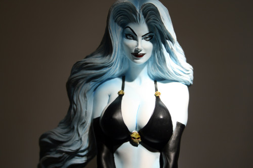 Moore Creations Lady Death Statue 012