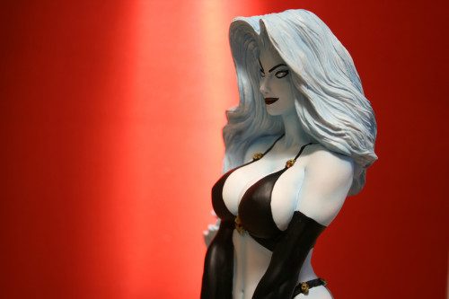 Moore Creations Lady Death Statue 030