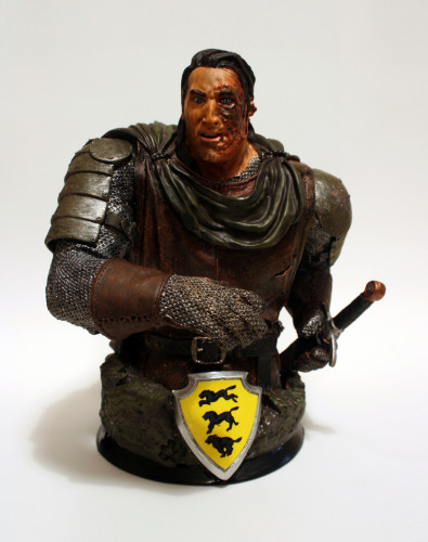 Song of Ice and Fire Sandor Clegane Bust 001