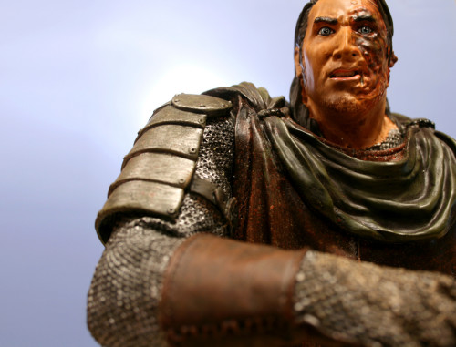 Song of Ice and Fire Sandor Clegane Bust 008