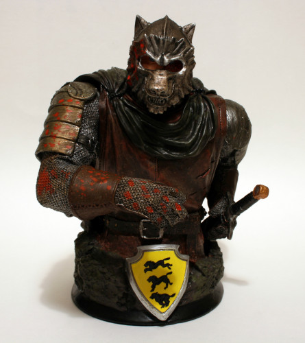 Song of Ice and Fire Sandor Clegane Variant Bust 001