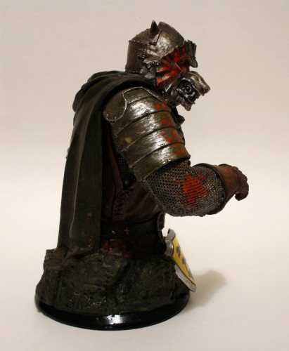 Song of Ice and Fire Sandor Clegane Variant Bust 002