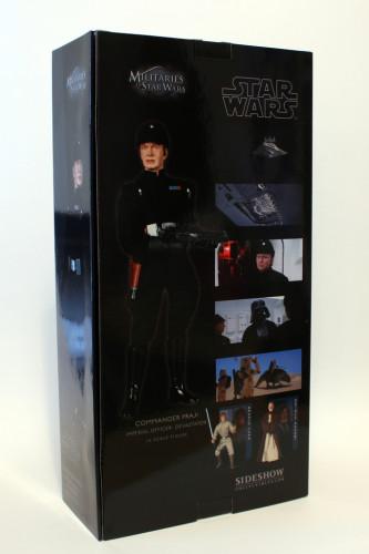 Star Wars 12 Inch Commander Praji - Box Back