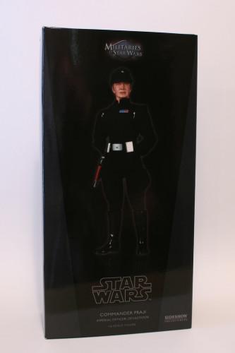 Star Wars 12 Inch Commander Praji - Box Front