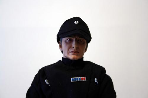 Star Wars 12 Inch Commander Praji - Fabric Hat Detail Front