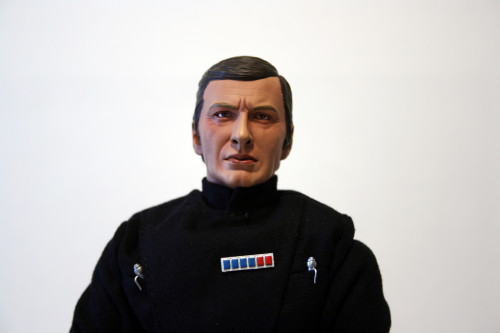 Star Wars 12 Inch Commander Praji - Face Detail