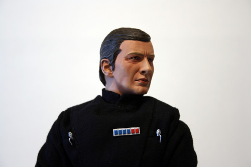 Star Wars 12 Inch Commander Praji - Face Detail Side