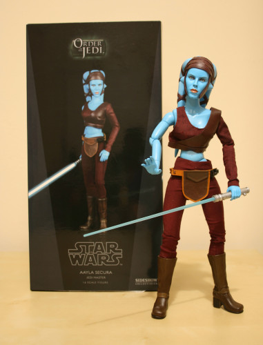Star Wars Aayla Secura 12 Inch Figure 001