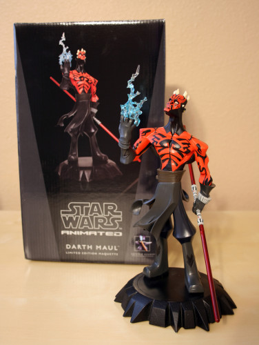 Star Wars Darth Maul Animaquette 001