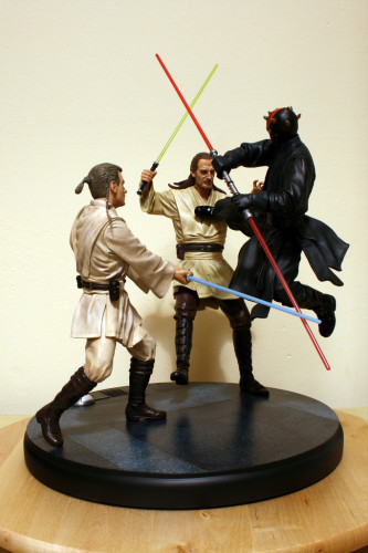Star Wars Duel of the Fates Diorama Statue 004